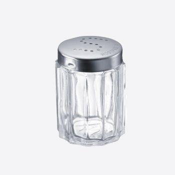 Westmark Traditionell zoutstrooier uit glas en rvs ø 3.7cm H 7cm (per 10st.)