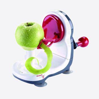 Westmark Loop appelschiller uit kunststof en rvs 24.5x11x17.5cm