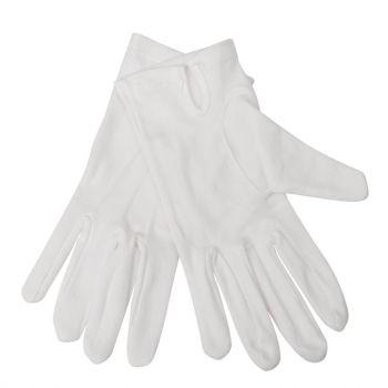 Heren serveerhandschoenen wit L