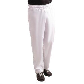 Whites Easyfit Teflon unisex koksbroek wit XL