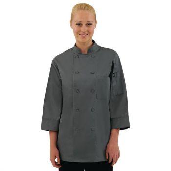 Chef Works unisex koksbuis grijs S