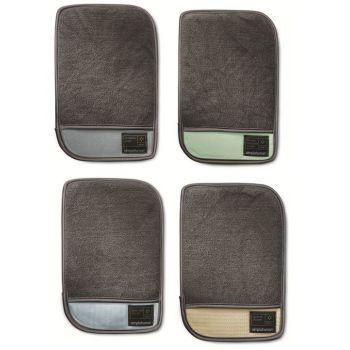 Simplehuman Schoonmaak Handschoen - Microvezel - Set van 4 Stuks - Grijs