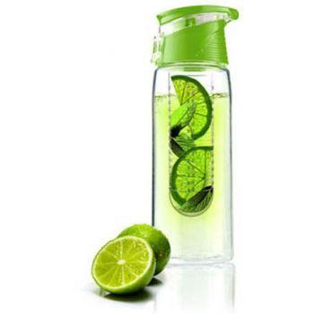 Asobu - Drinking Bottle Infuse Flavour It 2 Go Transparent 600 ml