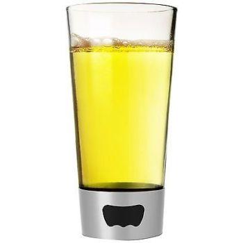 Asobu - Bier Glas Opener - 480 ml - Glas/RVS