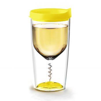 Asobu - Vino Cup with Opener 350 ml