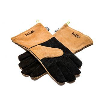 Höfats Handschoenen - Leer - 35x17 cm - Zwart