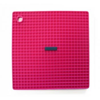 Silicone Zone Soft Cell Pannenlap - Vierkant - Roze