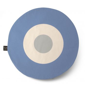 Kai Copenhagen - Cushion light.blue/grey