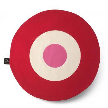 Kai Copenhagen - Cushion red/pink
