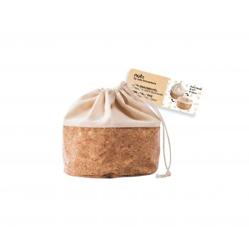 Bee's Wax - Bread Bag - Fruit Basket Extra Small with Cord Ø 12 cm