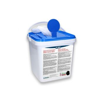 Healthinfi - Hygiene Bucket with Alcohol Swaps 50 % Alcohol