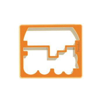 Tovolo Keukenhulp Gadget sandwich Steker Trein & Boot Oranje