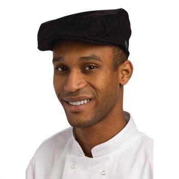 Chef Works stijlvolle pet zwart L