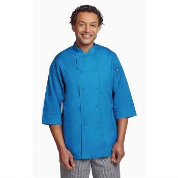 Chef Works unisex koksbuis blauw M