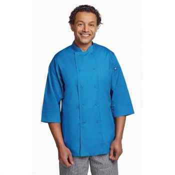 Chef Works unisex koksbuis blauw S