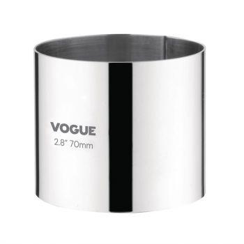 Vogue ronde mousse-ring 6x7cm