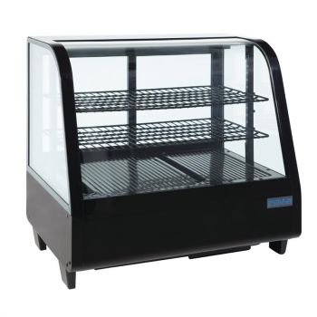 Polar C-serie koelvitrine 100L zwart