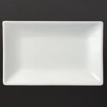 Olympia Whiteware rechthoekige serveerschalen 20x13cm