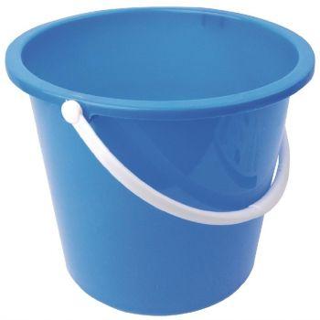 Jantex kunststof emmer 10L blauw