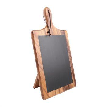 T&G Woodware Toscaanse krijtbordplank met standaard