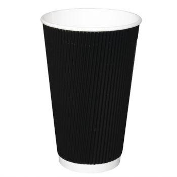 Fiesta koffiebekers met geribbelde wand 45.5cl