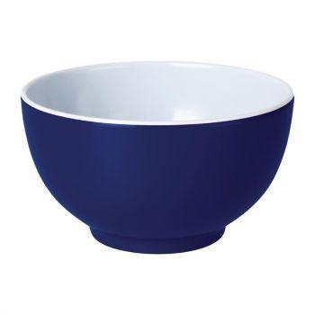 Kristallon Gala melamine kommen blauw 12.5cm