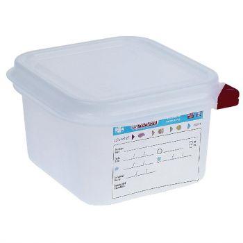Araven GN 1/6 voedseldoos met deksel 1.7L