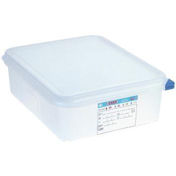 Araven GN 1/2 voedseldoos met deksel 6.5L