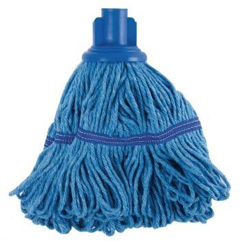 Jantex antibacteriële mop blauw