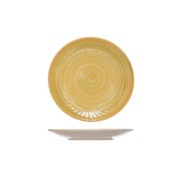 Cosy & Trendy Turbolino Geel Dessertbord D22cm