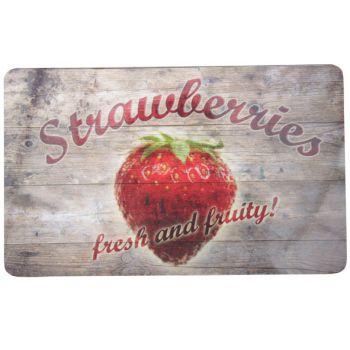 Ricolor Snijplank Strawberries 23,5x14,5cm