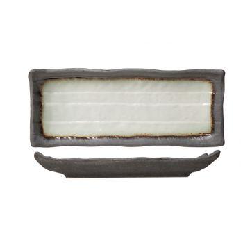 Cosy & Trendy Stone Schaal Rechthoekig 11x28cm