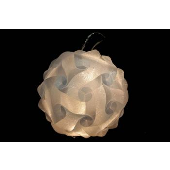 Cosy @ Home Lichtbal Design D25cm 16l Warm Wit
