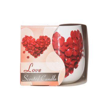 Cosy & Trendy Ct Geurkaars Glas Love