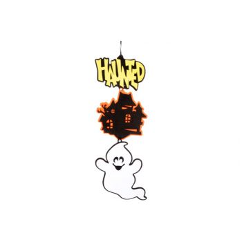 Cosy @ Home Hangdeco Haunted Spookhuis Spook L75cm