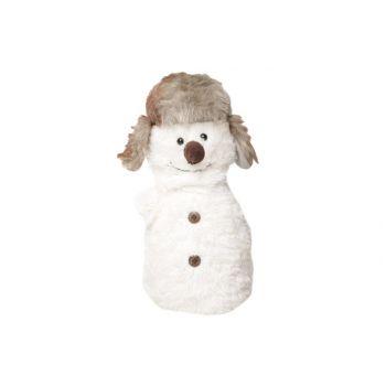 Cosy @ Home Deurstop Sneeuwman 15x15x30cm