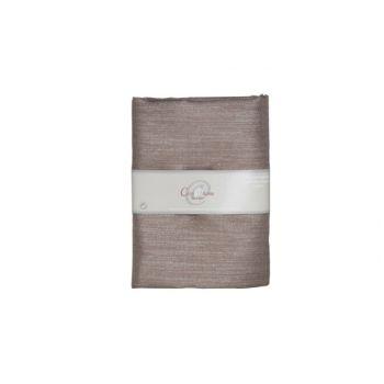 Cosy @ Home Decostof Chocolat Zilver 200x150cm