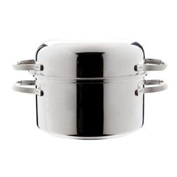 Cosy & Trendy Mosselkasserol 18cm Inox 18-10 Base 0.6m