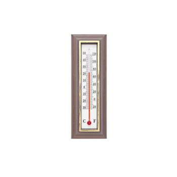 Cosy & Trendy Thermometer Donkerbruin 5.5xh16cm