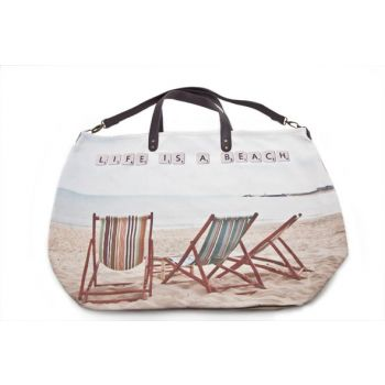 Cosy @ Home Handtas Design 'life Is A Beach' 48x36x