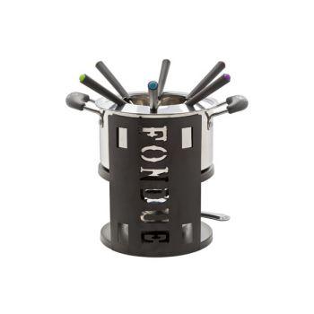 Cosy & Trendy Fondueset 9-dlg Incl 1 Rvs Pot - 6x Vork