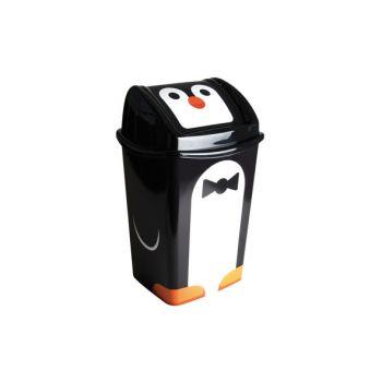 Hega Hogar Papelera Swing Vuilbak Pinguin 15l