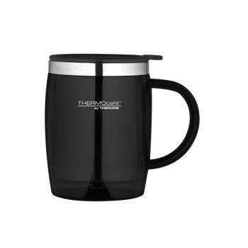 Thermos Desk Mug Zwart 0.45l
