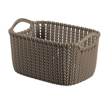 Curver Knit Mand Xs Rh 3l Harvest Brown