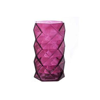 Cosy @ Home T-lichth Geometr Bordeaux 11x11x19.3cm