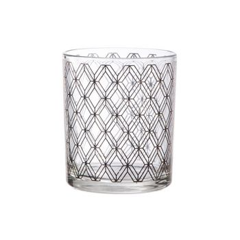 Cosy @ Home Theelichtglas Window Koper D9xh10cm