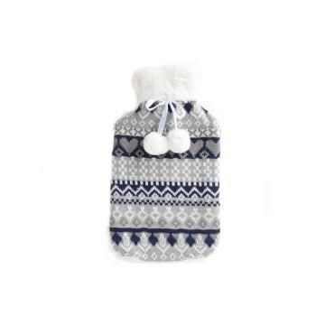 Cosy & Trendy Warmwaterkruik 2l Blauw Scandinavisch