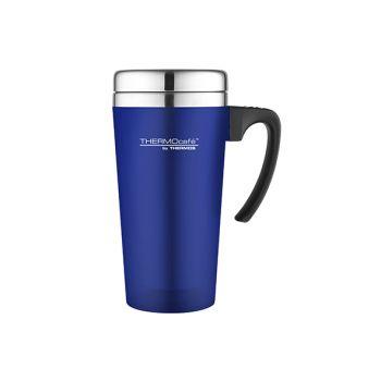 Thermos Soft Touch Travel Mug Blauw 420ml