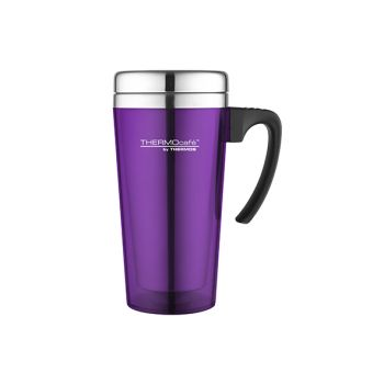 Thermos Soft Touch Travel Mug Paars 420ml