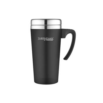 Thermos Soft Touch Travel Mug Zwart 420ml
